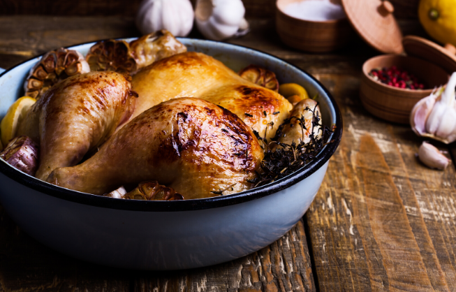 Trusted information is like a good roast chicken.
