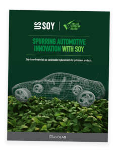 Spurring automotive innovation with soy